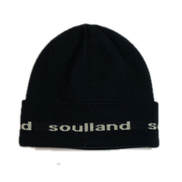 SOULLAND YOUNG BANG BEANIE BLACK