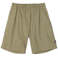 STUSSY BRUSHED BEACH SHORT OLIVE