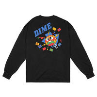 DIME BREAKER LONGSLEEVE SHIRT BLACK