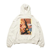 TIGHTBOOTH FORTRESS ZIP HOODIE OYSTER