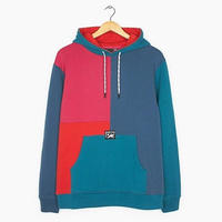 BY PARRA COLORBLOCKED HOODED SWEATER