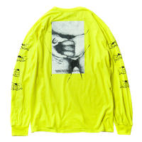 TIGHTBOOTH PRODUCTION GOLDEN BURGER LS T-SHIRT NEON YELLOW