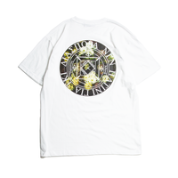 DIASPORA SKATEBOARDS HENRY MAGIC CIRCLE TEE WHITE