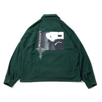 TIGHTBOOTH × KILLER-BONG BK SMOKER WOOL JKT GREEN