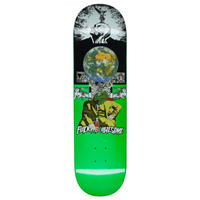 FUCKING AWESOME FROGMAN DIPPED GREEN DECK 8.0
