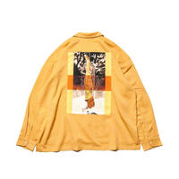 TIGHTBOOTH FORTRESS DRAPE SHIRT MUSTARD