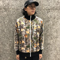 PALM  ANGELS  WOOD CAMO TRACK JACKET