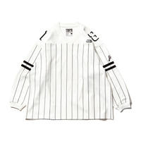 TIGHTBOOTH × KILLER-BONG GANGSTA HOCKEY SHIRT WHITE