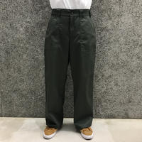 POETICCOLLECTIVE  PAINTER PANTS OLIVE