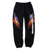 BLACK EYE PATCH RACING SWEAT PANTS BLACK