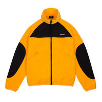 DIME POLAR FLEECE TRACK JACKET GOLD&BLACK