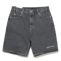 THISISNEVERTHAT REGULAR DENIM SHORT BLACK