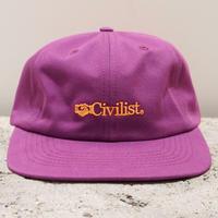 CIVILIST  MATTERS CAP PLUM