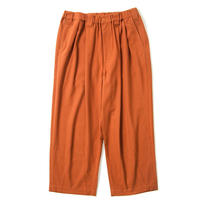 TIGHTBOOTH PRODUCTION BAGGY WOOL PANTS ORANGE