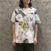 SOULLAND ALLOVER PRINT SHIRT
