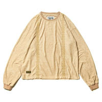 TIGHTBOOTH PRODUCTION ENCORE SUEDE TOPS BEIGE