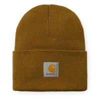 CARHARTT W.I.P ACRYLIC WATCH HAT   HAMILTON BROWN