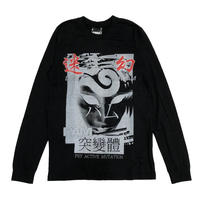 P.A.M LOST DREAM LS TEE BLACK