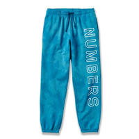 NUMBERS EDITION OUTLINE WORDMARK  FLEECE BOTTOM INDIGO TIE DYE