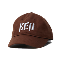 BLACK EYE PATCH SYMBOL CAP BROWN