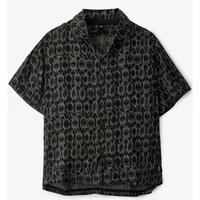 FORMER MARILYN S/S BLOOM SHIRT BLACK