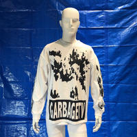 GARBAGE_TV ROBERTS DREAM L/S TEE WHITE