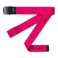 CARHARTT WIP ORBIT BELT RUBY PINK/BLACK