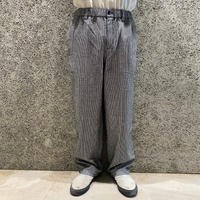 THEORIES STAMP LOUNGE PANT BURNT HOUNDSTOOTH