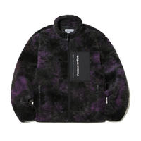THISISNEVERTHAT  SP BOA FLEECE JACKET PURPLE