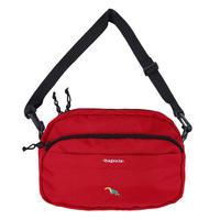 MAGENTA MESSENGER BAG RED