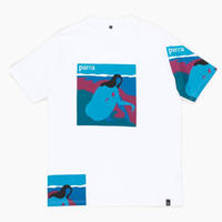 BY PARRA NO BEACH TEE WHITE
