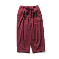 TIGHTBOOTH BAGGY SLACKS WINE