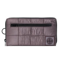 STONE ISLAND NYLON METAL WALLET BLUEGLAY