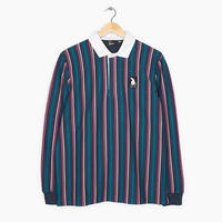 BY PARRA RACING GOOSE RUGBY SHIRT PINK BLUE