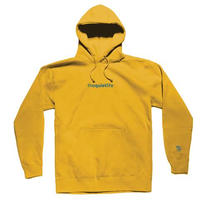 THE QUIET LIFE ORIGIN EMBROIDERED HOOD GOLD