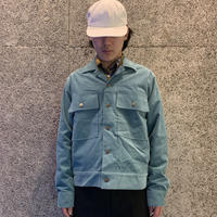MAIDEN NOIR  CORDUROY RANCK JKT  DUSTY TEAL