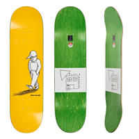 POLAR SKATE CO. DANE BRADY ALONE YELLOW 8.25