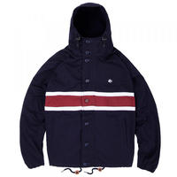 MAGENTA HEAVY HOODED JACKET NAVY