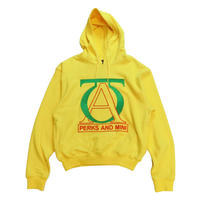 P.A.M JOG YOUR MIND HOODIE BRIGHT YELLOW
