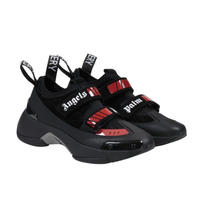 PALM  ANGELS   RECOVERY SNEAKER  BLACK  RED