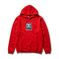 DC SHOES × BUTTERGOODS  BADGE PULLOVER RED