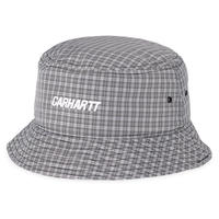 CARHARTT WIP  ALISTAIR BUCKET HAT ALISTAIR CHECK , SHIVER / BLACK