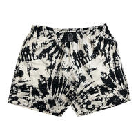 SSS WORLD CORP ACADACA TIE-DYE QUICK DRY SWIM SHORTS