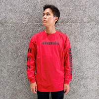 GARBAGE_TV MAYBE YOU DID THIS L/S TEE RED