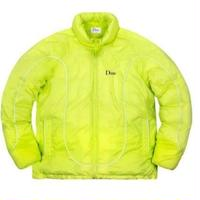DIME COURT PUFFER JACKET NEON