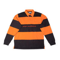 SOUR RUGBY POLO ORANGE/BLACK