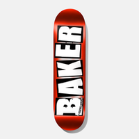 BAKER SKATEBOARDS BRAND LOGO RED FOIL