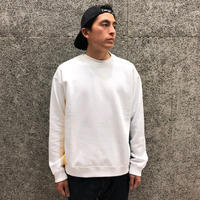 FUTUR INC RIBS CREW WHITE