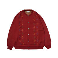 EVISEN SKATEBOARDS FOWLER CARDIGAN RED
