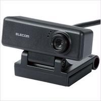 St0005  エレコム マイク内蔵 高精細ガラスレンズ 200万画素WEBカメラ UCAM-C520FBBK 1個